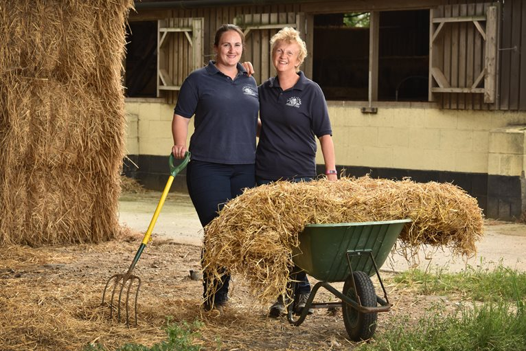 Rebecca & Sue Whitehead of Lane Farm